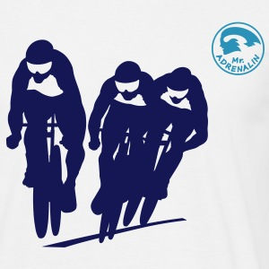 Cycling track T-Shirts - Men's T-Shirt