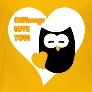 owlways love you Shirts - Kinderen Premium T-shirt