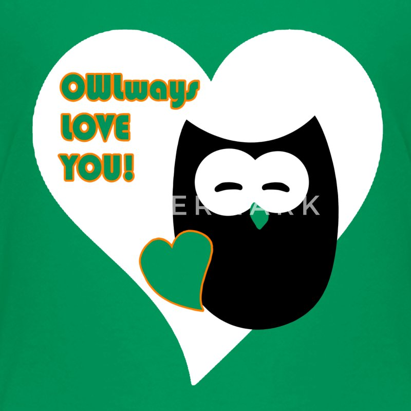 owlways love you Shirts - Teenager Premium T-shirt