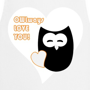 owlways love you  Aprons - Cooking Apron