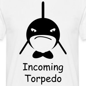 Orca - incoming torpedo T-shirts - Mannen T-shirt