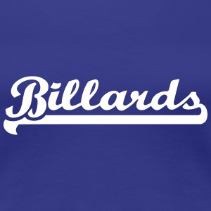 Billards T-Shirts - Frauen Premium T-Shirt