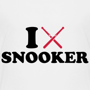 I love Snooker T-Shirts - Kinder Premium T-Shirt