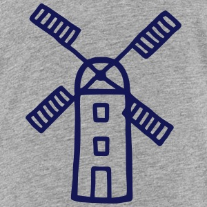 Wind Mill - Wind Energy Shirts - Teenage Premium T-Shirt