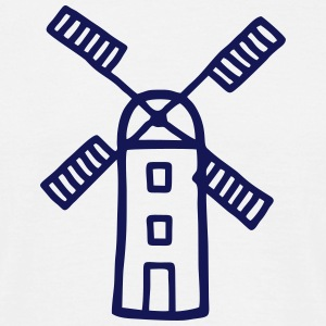 Wind Mill - Wind Energy T-Shirts - Men's T-Shirt