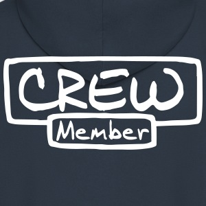 Crew Member Hoodies & Sweatshirts - Men's Premium Hooded Jacket