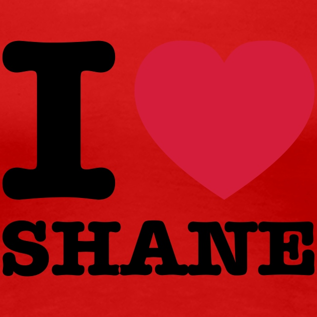 Lesben T-Shirt Shop: I ♥ SHANE