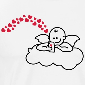 Raphael Angels for Valentine's Day PART II T-Shirts - Men's Premium T-Shirt