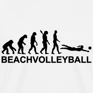 Evolution Beachvolleyball T-Shirts - Männer Premium T-Shirt