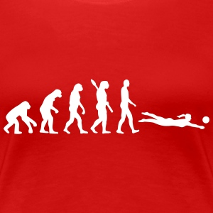 Evolution Beachvolleyball T-Shirts - Frauen Premium T-Shirt