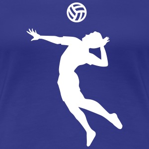 Volleyball T-Shirts - Frauen Premium T-Shirt