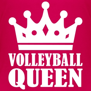 Volleyball Queen T-Shirts - Kinder Premium T-Shirt