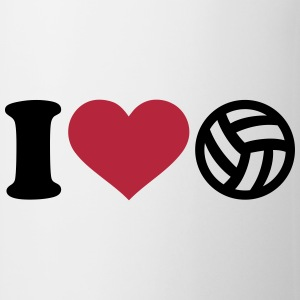 I love Volleyball Flaschen & Tassen - Tasse