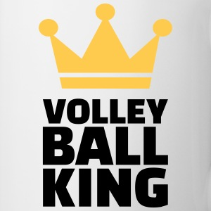 Volleyball King Flaschen & Tassen - Tasse