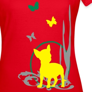 Crazy Chihuahua 1 - Frauen T-Shirt