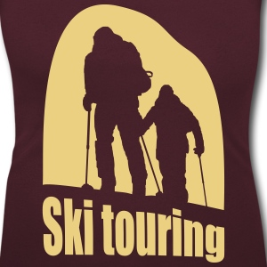 ski touring T-Shirts - Women's Scoop Neck T-Shirt