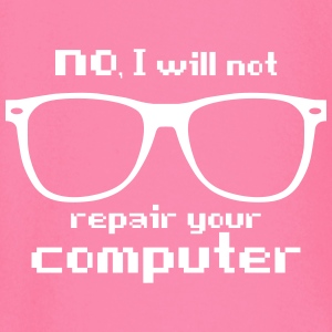 no I will not repair your computer Langarmshirts - Baby Langarmshirt