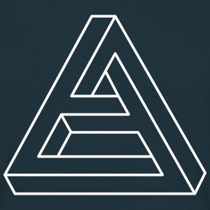 triangle 3D T-Shirts - Men's T-Shirt