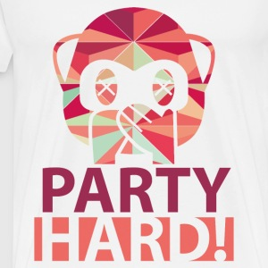 Party Hard - Männer Premium T-Shirt