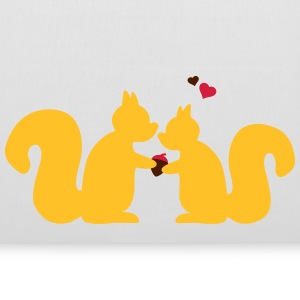 squirrels in love couple Bags & backpacks - Tote Bag
