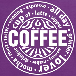 Coffee lover T-shirts - Vrouwen contrastshirt