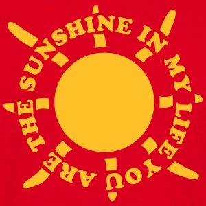 Sunshine in my life 2 Tee shirts - T-shirt Homme