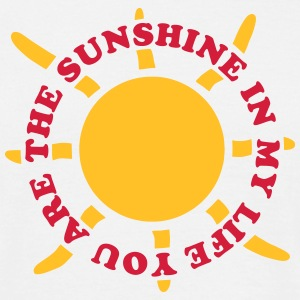 Sunshine in my life - V2 Tee shirts - T-shirt Homme