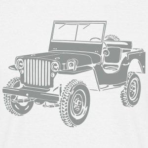 Jeep Willys Overland Offroad 4x4 T-Shirt T-Shirts - Men's T-Shirt