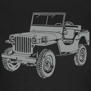Jeep Willys Overland Offroad 4x4 T-Shirt T-Shirts - Women's T-Shirt