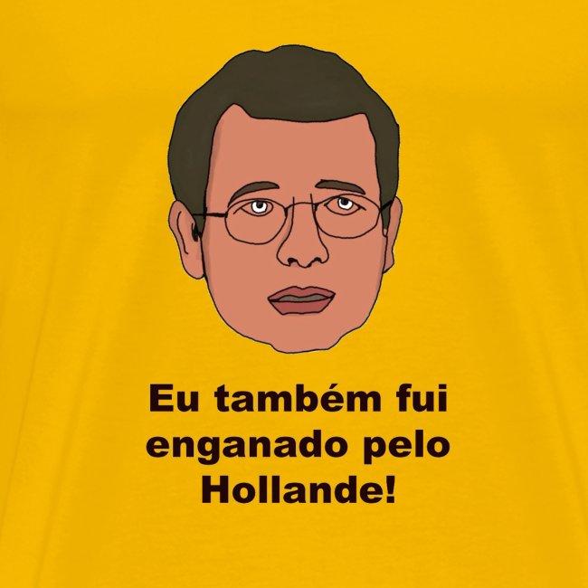 T-Shirt de homem Amarela Enganado