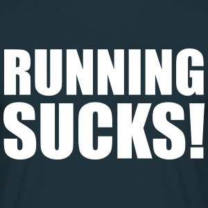 Running Sucks T-shirts - Herre-T-shirt