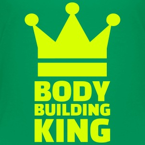 Bodybuilding King T-Shirts - Kinder Premium T-Shirt