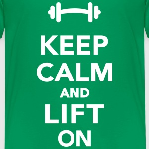 Keep calm and lift on T-Shirts - Kinder Premium T-Shirt