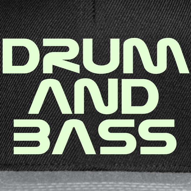Drum and Bass Glow Snapback