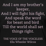 ~ the voice of the voiceless