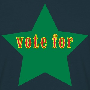 vote_for_ T-Shirts - Männer T-Shirt