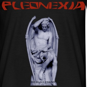 TSHIRT PLEONEXIA - COVER BREAK ALL CHAINS - Men's T-Shirt