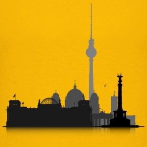 Berlin Cityscape - Teenage Premium T-Shirt