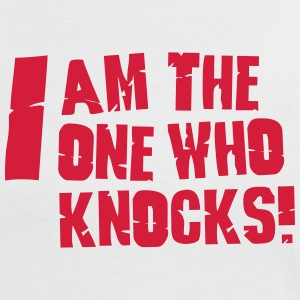 I am the one who knocks T-Shirts - Women's Ringer T-Shirt