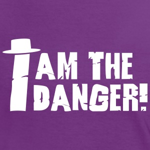I am the danger with hat T-Shirts - Women's Ringer T-Shirt