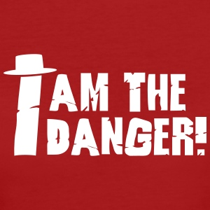 I am the danger with hat Magliette - T-shirt ecologica da donna