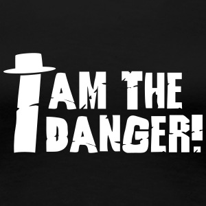 I am the danger with hat T-Shirts - Frauen Premium T-Shirt