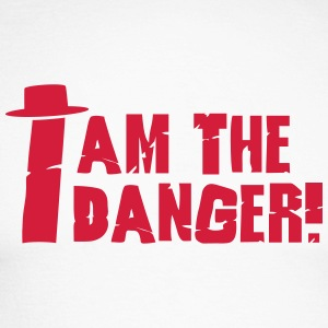 I am the danger with hat Maglie a manica lunga - Maglia da baseball a manica lunga da uomo