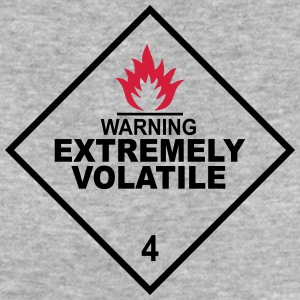 warning extremely volatile square I 2c Magliette - T-shirt ecologica da donna