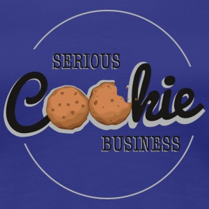 Cookie Business  T-Shirts - Frauen Premium T-Shirt