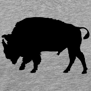 bison T-Shirts - Men's Premium T-Shirt