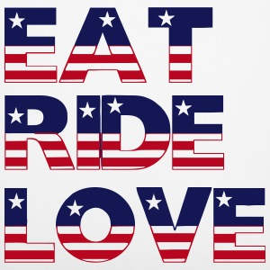 Eat Ride Love Other - Pillowcase 40 x 40 cm