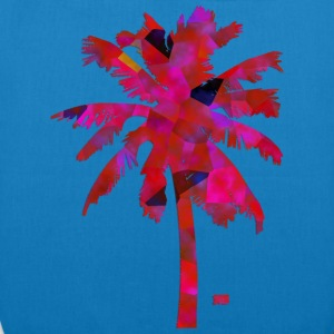 Pink palmtree Bags & Backpacks - EarthPositive Tote Bag