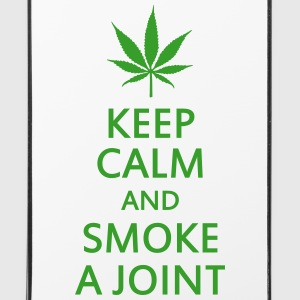 keep calm and smoke a joint Hoesjes voor mobiele telefoons & tablets - iPhone 4/4s hard case