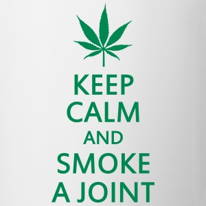 keep calm and smoke a joint Bouteilles et tasses - Tasse